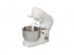 Camry Κουζινομηχανή Μίξερ 4.3Lt 900W από Ανοξείδωτο ατσάλι με 3 αξεσουάρ σε Λευκό/Μπορντώ χρώμα - Camry