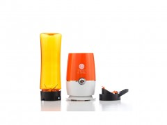 Twist and Take Μπλέντερ (Blender) 180W με Λεπίδες από Ανοξείδωτο ατσάλι σε Πορτοκαλί χρώμα, B1505146 - Twist and Take