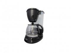 Muhler Καφετιέρα Φίλτρου 750W 1.25l για 12 φλιτζάνια σε Μαύρο χρώμα, CMC-1280 - Muhler