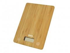 Jocca Ξύλινη Ψηφιακή Ζυγαριά Κουζίνας Ακριβείας έως 5Kg από Μπαμπού (Bamboo), 7161 - JOCCA home & life