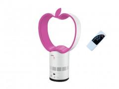 Ανεμιστήρας χωρίς Πτερύγια με Μοναδικό design σε σχήμα Μήλο, Διαμέτρου 25cm και Απόλυτη Ασφάλεια μαζί με Χειριστήριο - OEM