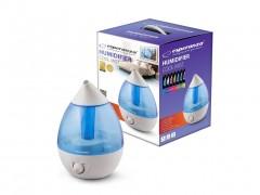 Esperanza Υγραντήρας Cool Mist Τύπου ατμού 2.5L 25W με LED Φωτισμό και 3 Επίπεδα ύγρανσης σε Γαλάζιο / Λευκό χρώμα, EHA002 - Esperanza
