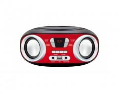 Manta Chilli Φορητό Boombox MP3 Player με 2 x 3W Ηχεία, FM Ραδιόφωνο, υποδοχές USB/AUX/MP3 και έξοδο για Ακουστικά, MM210 - Manta
