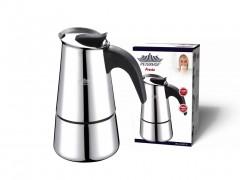 Peterhof Καφετιέρα Espresso 540ml για 6 φλυτζάνια από Ανοξείδωτο ατσάλι, PH-12527-6 - Peterhof