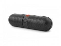 Esperanza Φορητό Bluetooth Ηχείο με ενσωματωμένο Ραδιόφωνο FM, Θύρα USB και υποδοχή κάρτας microSD για αναπαραγωγή MP3/MP4 σε Μαύρο-Κόκκινο χρώμα, EP118KR - Esperanza