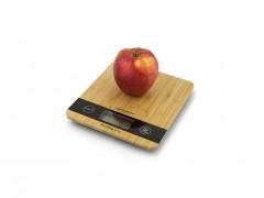 Esperanza Ψηφιακή Ξύλινη Ζυγαριά Κουζίνας Ακριβείας 18.8x21.8cm έως 5Kg με Οθόνη LCD σε Φυσικό χρώμα ξύλου, EKS005 - Esperanza