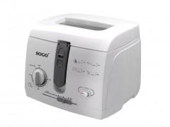 Sogo Φριτέζα 1800W χωρητικότητας 2.5lt και Θερμοστάτη έως 190 βαθμούς σε Λευκό χρώμα, FRE-SS-10415 - SOGO