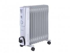 Sogo Ηλεκτρικό Φορητό Καλοριφέρ Λαδιού Θερμαντικό Σώμα με Μέγιστη Ισχύ 2500W, 3 επίπεδα θέρμανσης και Ροδάκια, CAL-SS-18211 - SOGO