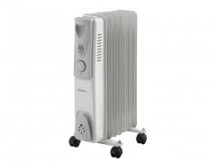 Sogo Ηλεκτρικό Φορητό Καλοριφέρ Λαδιού Θερμαντικό Σώμα με Μέγιστη Ισχύ 1500W, 3 επίπεδα θέρμανσης και Ροδάκια, CAL-SS-18207 - SOGO