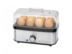 Profi Cook Βραστήρας αυγών 400W από Ανοξείδωτο ατσάλι για 8 αυγά σε Inox-Μαύρο χρώμα, PC-EK 1139 - Profi Cook