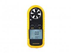 Ψηφιακό Ανεμόμετρο Συσκευή Χειρός για Μέτρηση Ταχύτητας και Θερμοκρασίας ανέμου με οθόνη LCD - OEM