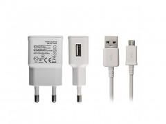 Φορτιστής 5V DC και καλώδιο micro USB 1m για Κινητά τηλέφωνα, Android Tablets, USB 2 in 1, Brief Fashion Design ETA-U90 EWE - Brief Fashion Design