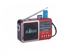 Επαναφορτιζόμενο Ραδιόφωνο - Multimedia Player Speaker 8W - Φακός LED - WAXIBA XB-51U - Cb