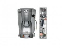 Καφετιέρα μηχανή Espresso Clatronic 1300W με διάφανο αφαιρούμενο δοχείο νερού και υποδοχή για κάψουλες, KAP 3015 - Clatronic