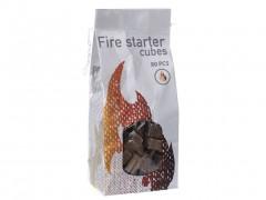 Προσάναμμα για Τζάκι, Ψησταριά και Μπάρμπεκιου 80 τεμαχίων σε σχήμα κύβου,BBQ Fire Starter cubes FS3000020 - Cb
