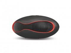 Φορητό Ηχείο Mini Wireless Bluetooth speaker, BT02 Μαύρο Κόκκινο - Cb