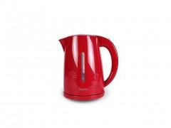 Ασύρματος Ηλεκτρικός Βραστήρας Νερού 1.7L 2200W σε Κόκκινο Λευκό χρώμα, Homa HK-2830F - Homa