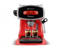 Καφετιέρα Espresso Cappuccino 19bar Πίεσης με Αποσπώμενο Δοχείο 1.2Lt, Turbotronic TT-CM19 Κόκκινο - TurboTronic