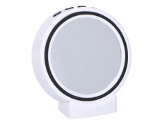 Dunlop Φορητό Ηχείο Bluetooth 2W με ρολόι και εφέ καθρέφτη, Mirror Bluetooth Speaker 08808 - Dunlop