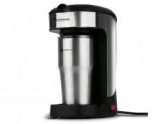 Καφετιέρα 650W χωρητικότητας 0.4L με μόνιμο φίλτρο σε Μαύρο Ασημί χρώμα, ZPRESSO TurboTronic TT-CM11 - TurboTronic