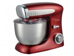 Dekoch Κουζινομηχανή Μίξερ 1300W με Κάδο 6.5L και επιπλέον Αξεσουάρ σε Κόκκινο χρώμα, DK-KM651 - Dekoch