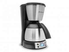 Καφετιέρα Φίλτρου Εσπρεσσο 800W χωρητικότητας 1.2lt με μόνιμο φίλτρο σε χρώμα ασημί, ZEspresso TT-CM21 - TurboTronic