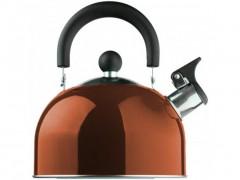 Βραστήρας Νερού 1.5lt, με ηχητική ειδοποίηση σφύριγμα, από ανοξείδωτο χάλυβα, σε 6 χρώματα Καφέ - Edenberg