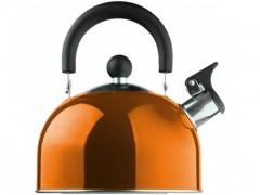 Βραστήρας Νερού 1.5lt, με ηχητική ειδοποίηση σφύριγμα, από ανοξείδωτο χάλυβα, σε 6 χρώματα Πορτοκαλί - Edenberg