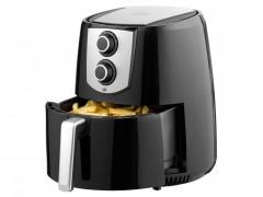 Φριτέζα Αέρος 4.4L, 1400W για Υγιεινό μαγείρεμα χωρίς ή με ελάχιστο λάδι, σε μαύρο χρώμα, Lentz 29026 - Lentz