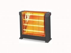 Kumtel Ηλεκτρική Θερμάστρα Σόμπα Χαλαζία 2200watt και 4 λάμπες Χαλαζία, υψηλής απόδοσης και ισχύος, KS-2760 - Kumtel