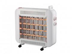 Ηλεκτρική Σόμπα Θερμάστρα Χαλαζία 1600W με θερμοστάτη, 48x15x51 cm, 200QT81 - Aria Trade