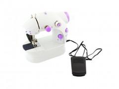 Mini Ηλεκτρική Ραπτομηχανή δύο ταχυτήτων με αξεσουάρ ραπτικής, 19x9.5x18 cm - Aria Trade
