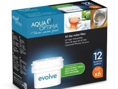 AQUA OPTIMA - Αντικαθιστούν BRITA MAXTRA - Ανταλλακτικά Φίλτρα 12τμχ 60-Ημερών (2 Ετών)- Aqua Optima Evolve EVD912 - - - - fil-0008167