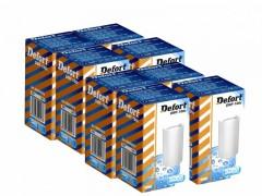 DEFORT - Defort DWF-100c Φίλτρο Νερού Πακέτο 8 Τμχ Ενεργού Άνθρακα (Για DWF-600 & DWF-500) - - - - fil-0008916