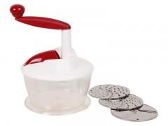 Keskor - Πολυκόπτης κουζίνας με 3 εξαρτήματα χρ. κόκκινο - - - - 0202822-2