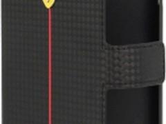 Θήκη Ferrari Formula One Carbon Series Book Flip for Samsung Galaxy S Duos S7562/S7582 Black