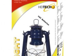 Φανάρι Led Hurricane III Heitech 04002956, Μπλε