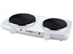 Ηλεκτρική Εστία Διπλή First FA-5083-2 , Λευκή (2500w)