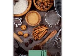 Ψηφιακη Ζυγαριά Κουζίνας Primo CFC 2025-X 5Kg Υάλινη 'Baking'