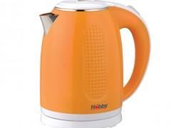 Βραστήρας Hobby KT 720 1,7lt Πορτοκαλί-Άσπρος (2200w)