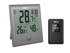 Ρολόι Μετεωρολογικός Σταθμός In & Out Telco Ε0322Τ Γκρι