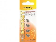 Μπαταρίες για Ακουστικά Βαρηκοίας Zinkair A13 280mAh Heitech 04000502 4τμχ
