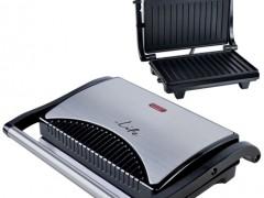 Τοστιέρα με Grill Πλάκες Life STG-100 700w Inox