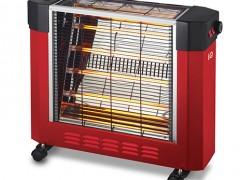 Σόμπα Χαλαζία IQ ΗΤ-1477 Κόκκινη (2400w)