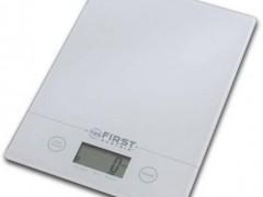 Ψηφιακή Ζυγαριά Κουζινάς First FA-6400-WI Λευκή