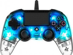 Nacon Wired Controller Crystal Blue - PS4 Controller