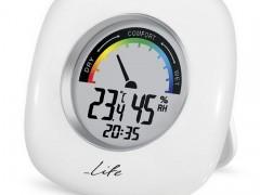 Ψηφιακό Θερμόμετρο-Υγρόμετρο Life WES-103