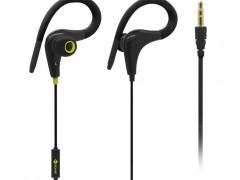 Ακουστικά Stereo με Μικρόφωνο 3.5mm Meliconi Mysound Speak Fit Μαύρα