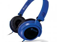 Ακουστικά Stereo με Μικρόφωνο 3.5mm Meliconi Mysound Speak Smart Fluo Blue-Black