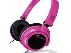 Ακουστικά Stereo με Μικρόφωνο 3.5mm Meliconi Mysound Speak Smart Fluo Fucsia-Black